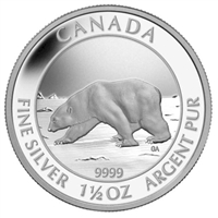 2013 Canada $8 Polar Bear Proof 1.5oz. Fine Silver - 129881 (No Tax)