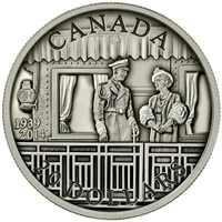 2014 Canada $20 75th Ann. First Royal Visit Antique (TAX Exempt)