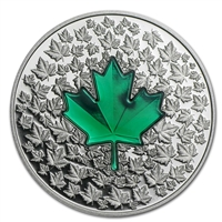 2014 Canada $20 Maple Leaf Impression (#2) Fine Silver (No Tax)