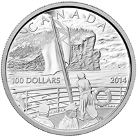 2014 Canada $100 100th Anniversary of the Declaration of WWI (No Tax)