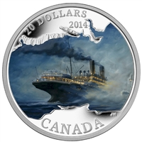 2014 $20 Lost Ships in Canadian Waters - Empress of Ireland (No Tax)