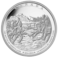 2014 Canada $250 Battle of Lundy's Lane Fine Silver Kilo (No Tax)