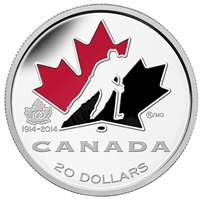 2014 Canada $20 100th Anniversary of Hockey Canada (No Tax)