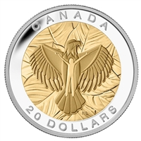 2014 Canada $20 The Seven Sacred Teachings - Love Fine Silver (No Tax)