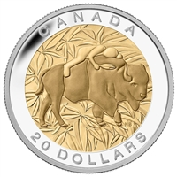 2014 Canada $20 Seven Sacred Teachings : Respect Fine Silver (No Tax)