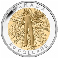 2014 Canada $20 Seven Sacred Teachings - Honesty Fine Silver (No Tax)