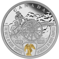 2015 Canada $20 WWI Battlefront - Battle of Neuve-Chapelle (No Tax)