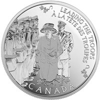 2015 Canada $5 Yesteryear's Princess - Today's Monarch Silver (No Tax)