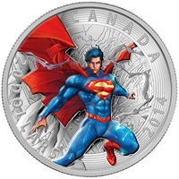 2014 Canada $20 Iconic Comic Book Covers: Superman Annual #1 (No Tax)