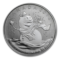 2014 Canada $20 Snowman .999 Fine Silver (No Tax) CAPSULE ONLY
