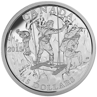 2015 Canada $15 Exploring Canada - Wild Rivers Exploration (TAX Exempt)