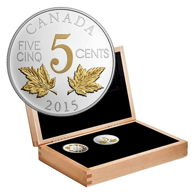 2015 Canada Legacy of the Nickel 6-Coin Set in Deluxe Box (No Tax)
