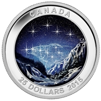 2015 Canada $25 Star Charts - Eternal Pursuit Fine Silver (No Tax)