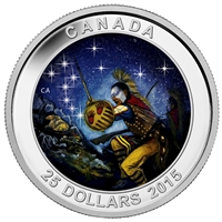 2015 Canada $25 Star Charts - The Wounded Bear Fine Silver (No Tax)