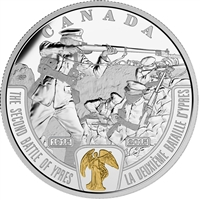 2015 Canada $20 WWI Battlefront - The Second Battle of Ypres (No Tax)