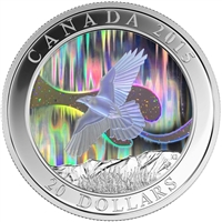2015 Canada $20 A Story of the Northern Lights - The Raven (No Tax)
