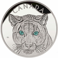 2015 Canada $250 In The Eyes of the Cougar Kilo Fine Silver (No Tax)