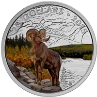 2015 Canada $20 Bighorn Sheep Fine Silver Coin (TAX Exempt) 141824
