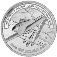 2015 Canada $20 WWII Battlefront - The Battle of Britain (TAX Exempt)