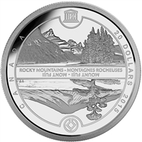 2015 Canada $20 UNESCO: Mount Fuji & The Canadian Rockies (TAX Exempt)