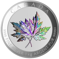 2015 Canada $250 Maple Leaf Forever Fine Silver Kilo Coin (No Tax)