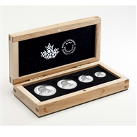 2015 Canada Bald Eagle Fractional Fine Silver 4-coin Set (No Tax)