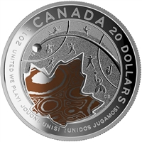 RDC 2015 Canada $20 United We Play - 2015 Pan AM/ParaPan AM Games (No Tax) Scuffed