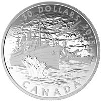 2015 $30 Canada's Merchant Navy in the Battle of the Atlantic (NO Tax)