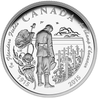2015 Canada $20 100th Anniversary of In Flanders Fields (No Tax)