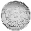 2015 Canada $100 Muskox ($100 for $100) Fine Silver (TAX Exempt)