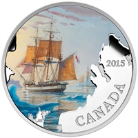 2015 $20 Lost Ships in Canadian Waters - Franklin's Lost Expedition (Tax Exempt)