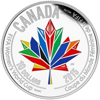 2015 $10 Canada Welcomes the FIFA Women's World Cup (TAX Exempt)