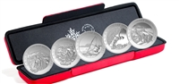 2015 $10 Adventure Canada 5-coin Set in Special Display Box (NO TAX)