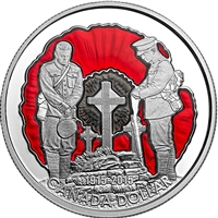 2015 Canada $1 100th Ann. In Flanders Fields Limited Edition (No Tax)