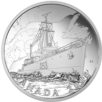 2016 $20 Canadian Home Front - Patrol Against U-Boats (TAX Exempt)
