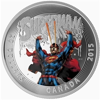 2015 Canada $20 Iconic Superman: Superman #28 (2014) TAX Exempt