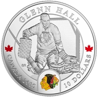 2015 Canada $10 Goalies - Glenn Hall Fine Silver Coin (TAX Exempt)