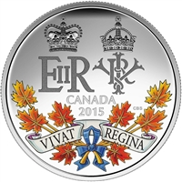 2015 Canada $20 A Historic Reign Fine Silver (No Tax)