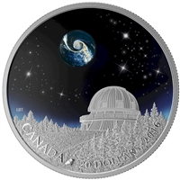 RDC 2016 Canada $20 The Universe Fine Silver (No Tax) bent sleeve