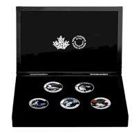 2016 Canada $20 Geometry In Art 5-coin Set in Deluxe Box (No Tax) impaired