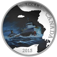 2015 Canada $20 Lost Ships - S.S. Edmund Fitzgerald (Tax Exempt)
