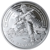 2019 Canada $20 WWII Battlefront Series - The Normandy Campaign Fine Silver (No Tax)