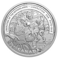 2020 $20 WWII Battlefront Series - Liberation of the Netherlands Fine Silver