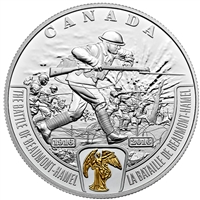 2016 Canada $20 WWI Battlefront - Battle of Beaumont-Hamel (No Tax)