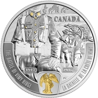 2017 Canada $20 WWI Battlefront - The Battle of Vimy Ridge (NO tax)