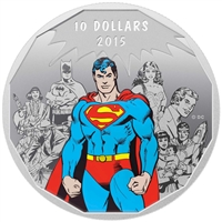 2015 Canada $10 DC Comics Originals - Legacy Fine Silver (No Tax)
