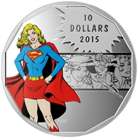 2015 Canada $10 DC Comics Originals - Strength Fine Silver (No Tax)