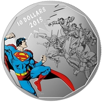 2015 Canada $10 DC Comics Originals - Gauntlet Fine Silver (No Tax)