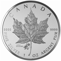 2015 Canada $5 Violet Privy - ANA Chicago State Flower (TAX Exempt)