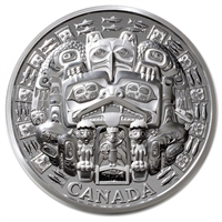 2015 Canada $500 The Dance Screen (The Scream Too) 5kg Silver (No Tax)